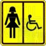 женский туалет для инвалидов