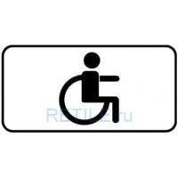 Дорожный знак Для инвалидов 700х350 мм