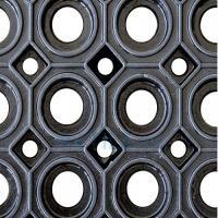 Грязезащитный резиновый мат 600х800х23 мм