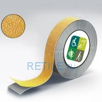 Противоскользящая жёлтая лента 25 мм
