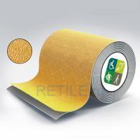 Противоскользящая жёлтая лента 100 мм