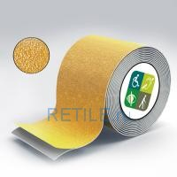 Противоскользящая жёлтая лента по ГОСТ 80 мм