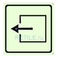 Тактильная светонакопительная пиктограмма на ПВХ