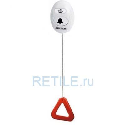 Беспроводная кнопка вызова персонала Call-Hear со шнуром для влажных помещений