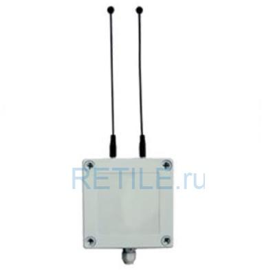 Усилитель мощности сигнала двухканальной системы вызова УС-2