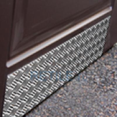 Отбойник для двери из рифленого алюминиевого листа
