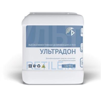 Универсальное дезинфицирующее средство УЛЬТРАДОН 5л (концентрат)