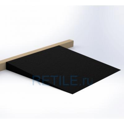 Пандус резиновый РУББЕР 75х900х775 мм (высота 75 мм)