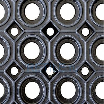 Грязезащитный резиновый мат 750х1000х23 мм