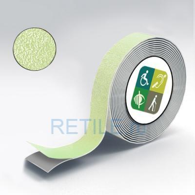 Противоскользящая самоклеящаяся лента АЛУНД 25 мм, фотолюминесцентная