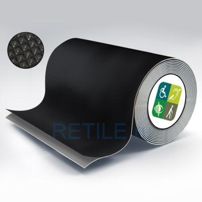 Противоскользящая чёрная лента повышенной износоустойчивости 150 мм