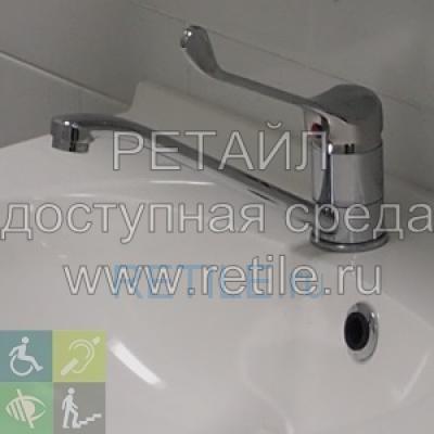 Смеситель локтевой для инвалидов (Китай, Россия)