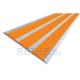 Алюминиевая полоса с 3 противоскользящими вставками 100х5,6 мм