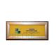 Комплексная тактильная табличка на оргстекле с подсветкой 100х300 мм